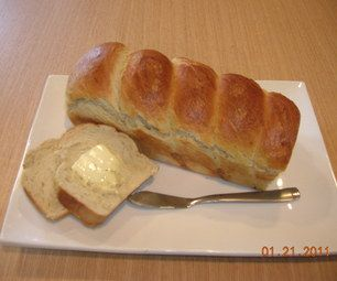 Home Made Bread  3 cups of flour(any kind is fine. I use all purpose flour) 3 tsp active dry yeast 3 tsp sugar 1 tsp salt 1 cup of warm water 1tbsp margarine...