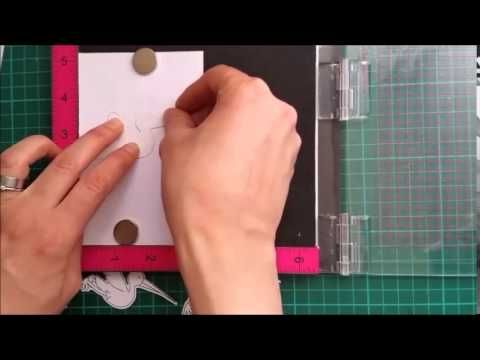 How to Use the MISTI with Die Cuts & Matching Stamps | DiyCraftyScraps