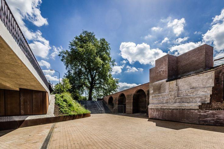 Deel van de vesting bij de Casinotuin in 's-Hertogenbosch.