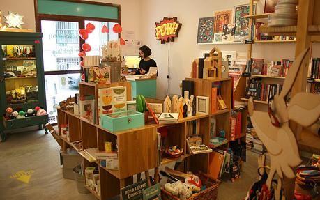 La Fiambrera: cafetería, galería de arte y tienda de diseño en Madrid