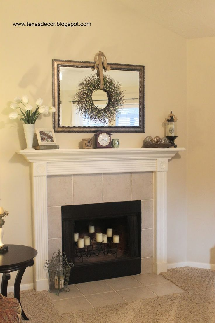 25 best mirror above fireplace ideas on pinterest fake for Over fireplace decor
