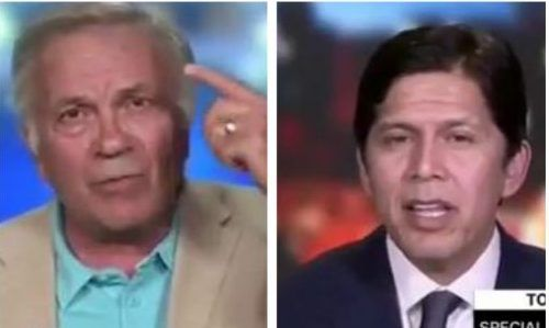 'I live inside your brain': CNN debate on immigration turns ugly when smug liberal starts losing