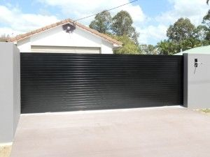 Sliding Driveway Gate – Aluminium – Slats – Automatic Technology Australia (ATA) NeoSlide Automatic Gate opener – Morayfield – Brisbane | Automatic Sliding Electric Gates Openers Brisbane | Sliding Gates Supplier Brisbane | Electric Gates Supplier Brisbane | Sliding Gate Opener