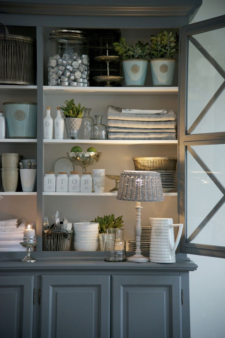 Lene Bjerre - SPRING 2013.  SCANDINAVIA cabinet, MILLE LIGHTING lamp w/shade, MOLLY jug.
