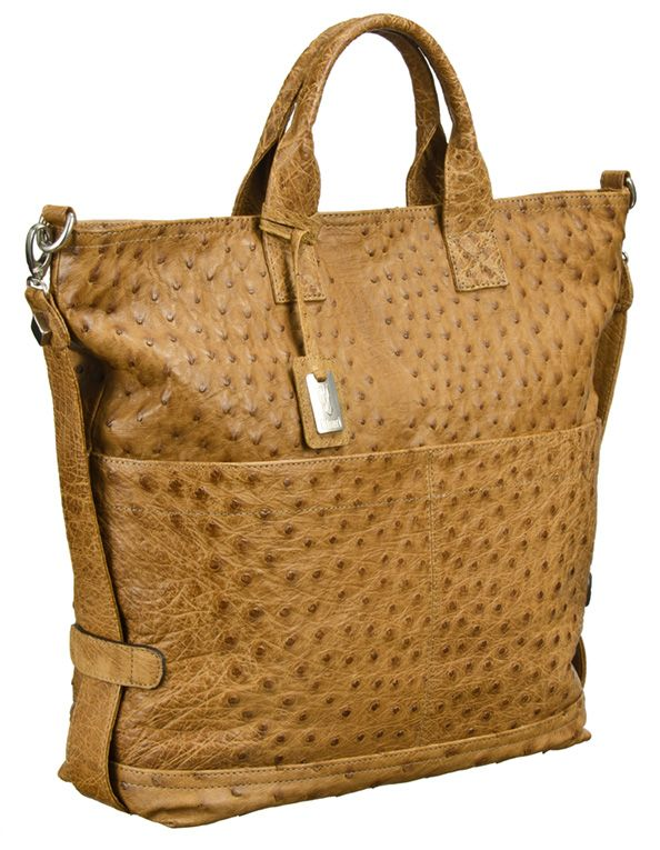 Khari Bag Sabi / Material Ostrich Leather / Dimensions w34 x h36 x d15
