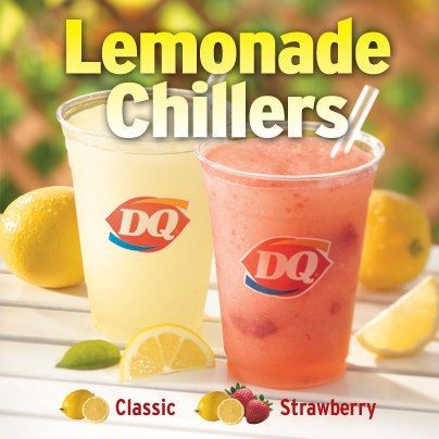 Dairy Queen Copy Cat Lemonade Chiller~ Classic and Strawberry