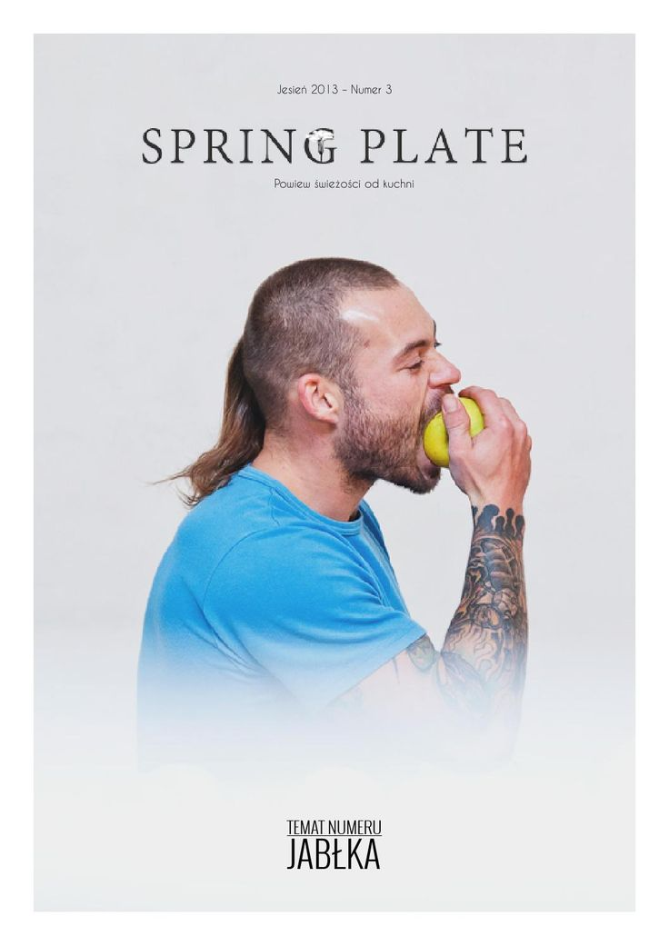 Spring Plate Magazyn nr 3  Food and lifestyle Polish magazine
