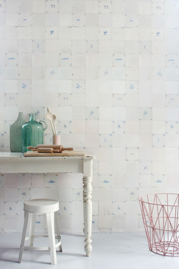 Meer dan 1000 ideeën over antiek behang op pinterest   retro ...