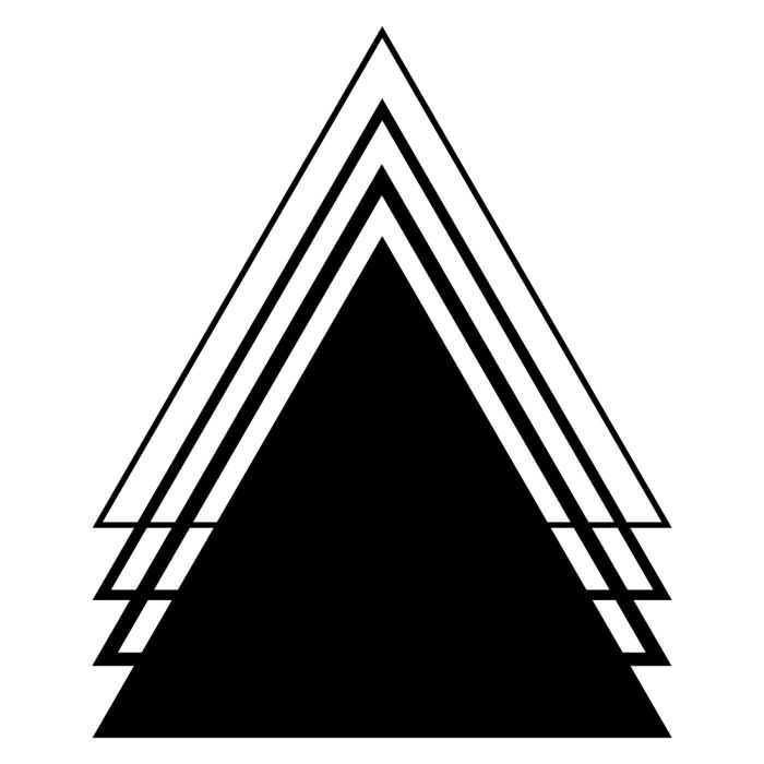 17 Best ideas about Geometric Triangle Tattoo on Pinterest