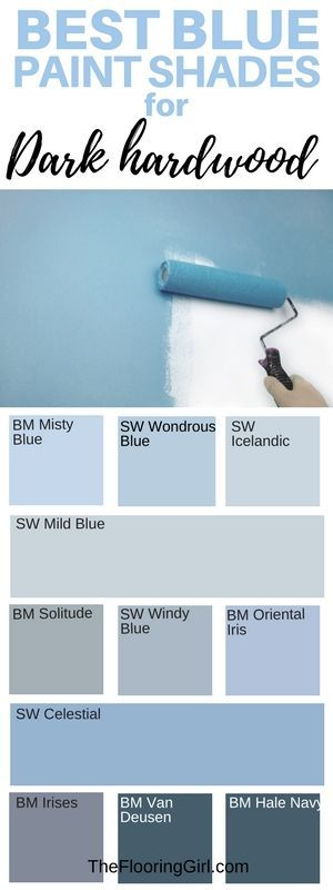 best shades of blue paint for dark hardwood flooring #best #shade #blue #paint #darkhardwood