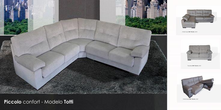 Totti sof rinconera viscolelastica sistema modular http for Sofa exterior esquina