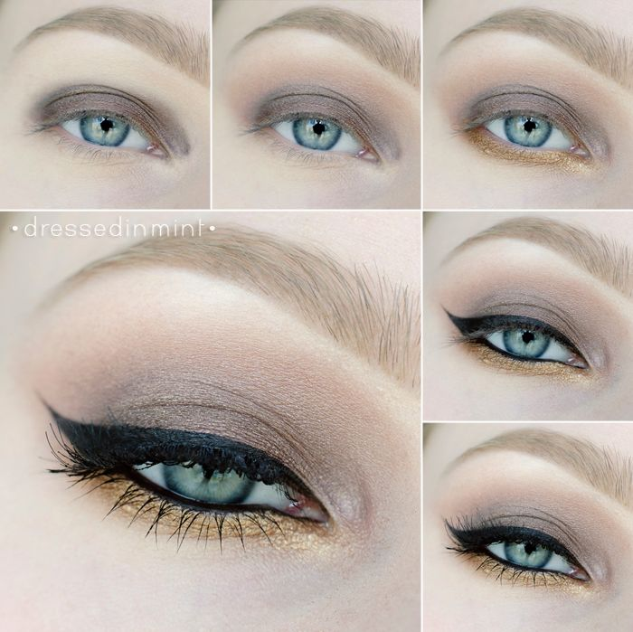 Dressed in Mint: Makeup Revolution ICONIC 1 - step by step