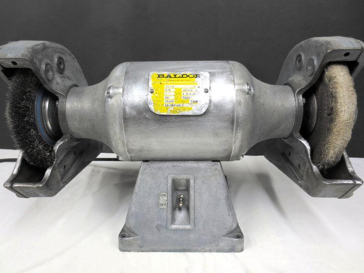 Baldor 8 Quot Industrial Bench Grinder Buffer 8250w 3600rpm 3