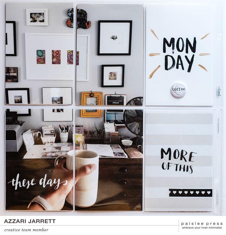 November Monthly Layout with Paislee Press | Azzari Jarrett