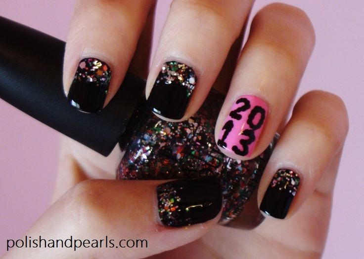 New Year's Eve nails - 43 Best Happy New Year Nail Designs Images On Pinterest New