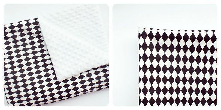 Babydecken - SET WAGEN_75x100_ Minky Decke + Kissen - ein Designerstück von Owl-on-cotton bei DaWanda