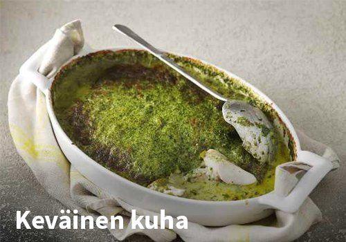 Keväinen kuha, Resepti: Valio #kauppahalli24 #resepti #kuha #kala #uunikala #arkiruoka