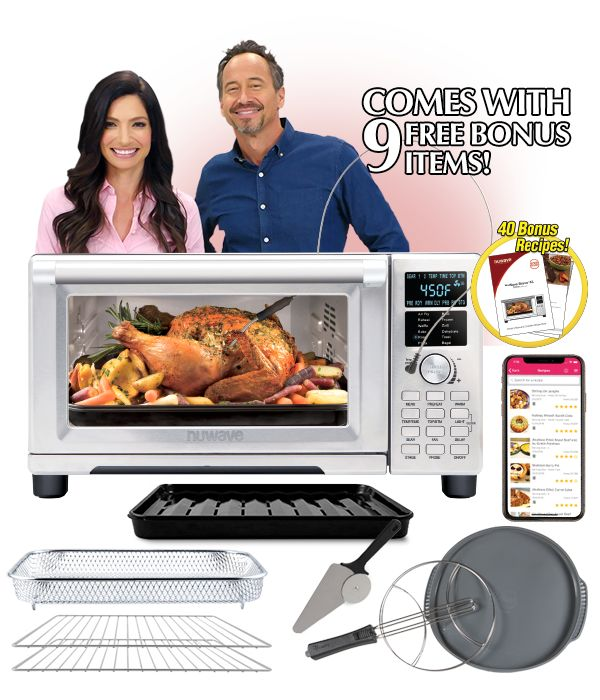 Nuwave Bravo Xl Air Fryer Oven The Countertop Home Oven