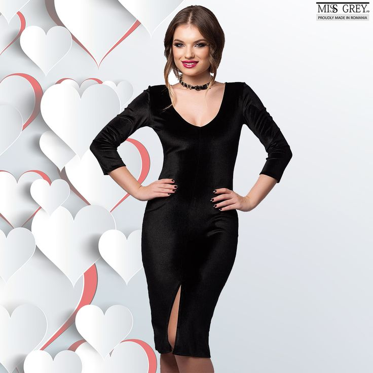 Do you want to impress at a special event with a chic and refined outfit? Wear the black velvet Anne dress and you will dazzle with a feminine and elegant look. Discover the new and discounted price in our online shop.
