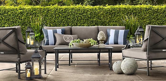 41 best images about garden furniture on pinterest for Restoration hardware furniture manufacturer