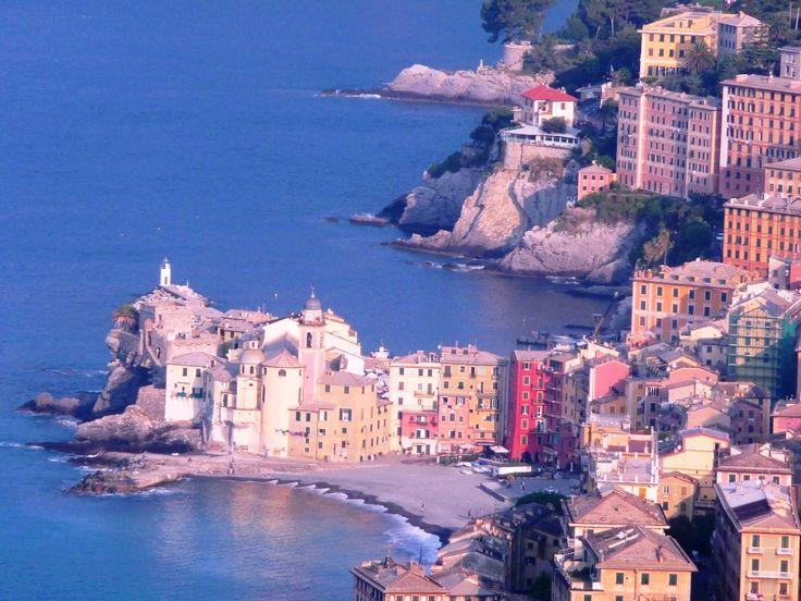 Camogli, Hafendorf in der Provinz Genua