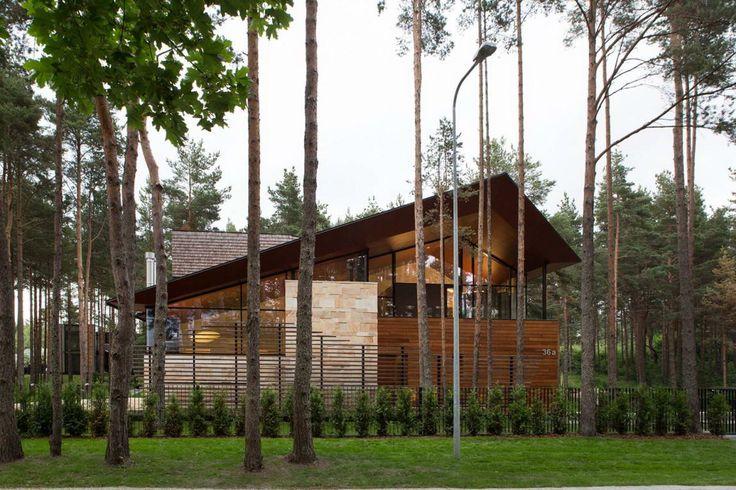 Дом Флюгель (Flügel Haus) в Эстонии от Arch-D.