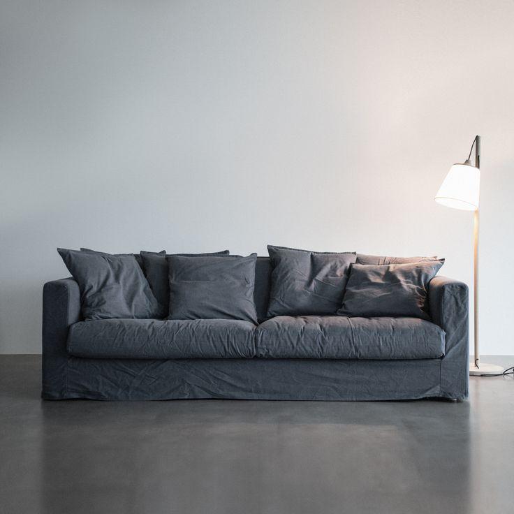 Le Grand Air 3-sits soffa, grå i gruppen Möbler / Soffor / 3-sits hos RUM21.se (LeGrandAir2)
