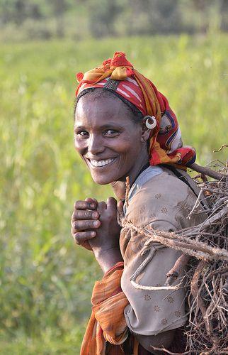 Africa: Tigray woman, Ethiopia