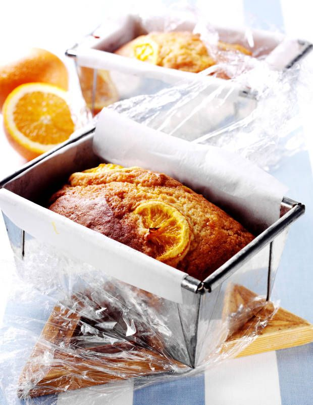 The yummiest orange yogurt loaf cake recipe from Mrs. Lilien.