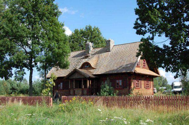 Tradycyjne polskie domy drewniane i murowane
