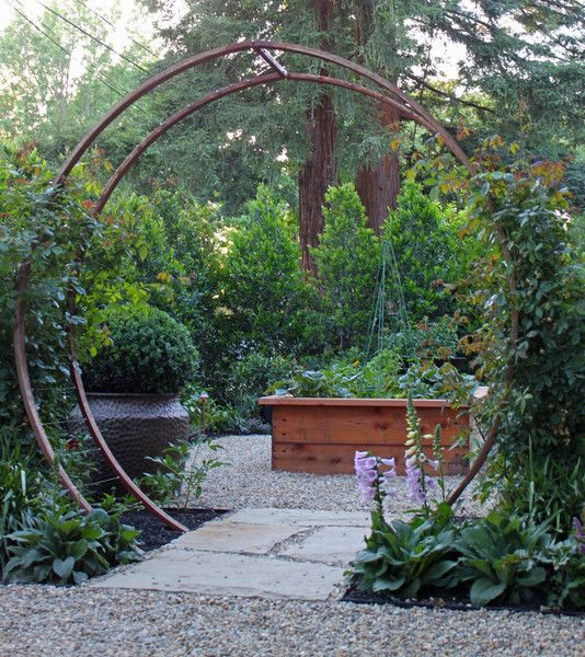 The Gracie Modern Arbor Made An Appearance In One Of The Most Celebrated  Gardens On The