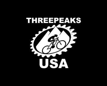 Threepeaks USA logo design