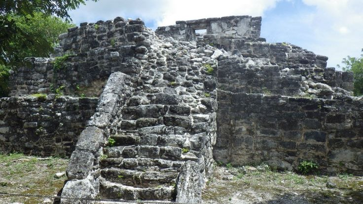 Mayan Ruins at San Gervasio in Cozumel, Mexico