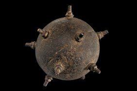 A very scarce Orsini type hand-bomb : Lot 237