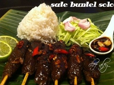 Sate Buntel from Solo,Indonesia