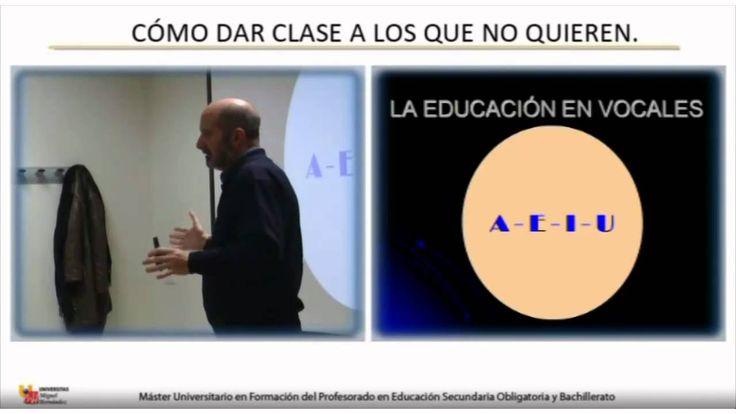 Seminario impartido por Juan Vaello Orts. Master de profesorado en educación secundaria. Universidad Miguel Hernández de Elche.