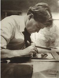 Walter Burley Griffin, designer of Canberra and man of amazing ideas. His wife was also amazing.