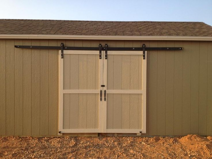 Best 25 exterior barn doors ideas on pinterest diy - Exterior sliding door hardware kits ...