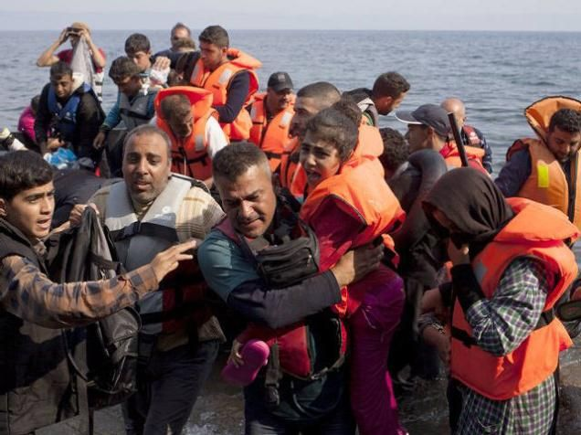 According to the International Organization for Migration (IOM), the number of refugees crossing into Europe by land and sea this year illegally