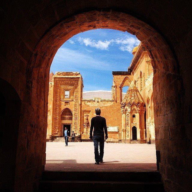"""Ishak Pasa Palace / Dogubeyazit"" photo by Mustafa Seven  http://instagram.com/mustafaseven  #comeseeturkey"