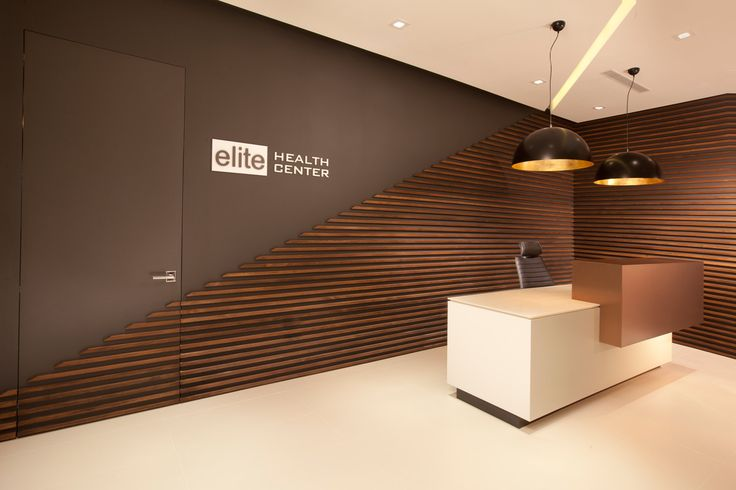 Miami modern scandinavian medical office dkor interiors - Office interior design photo gallery ...