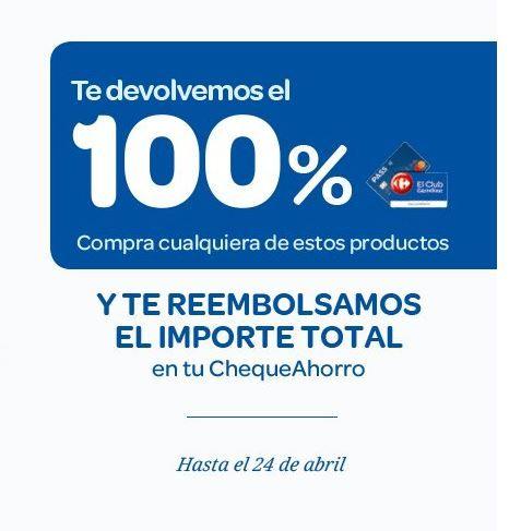PROMO LOCA! Devolución del 100% en Carrefour - Link: https://is.gd/qsp4Td