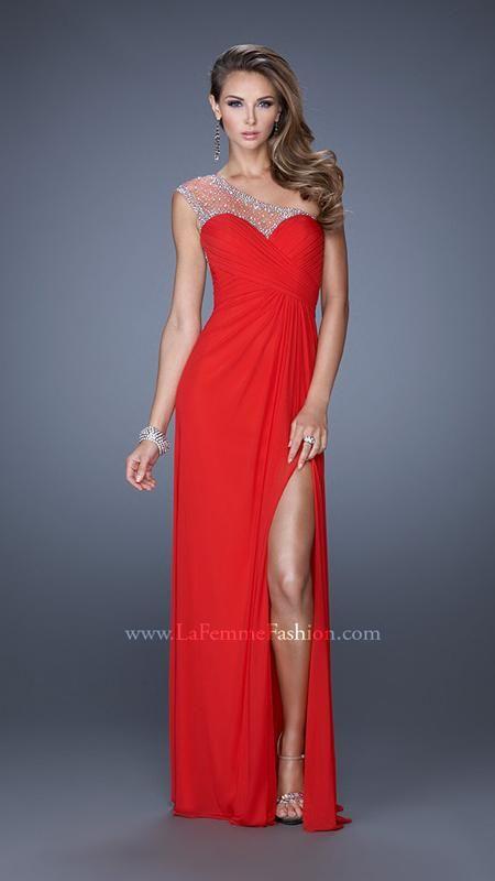 La Femme 20384 | La Femme Fashion 2014 - La Femme Prom Dresses - Dancing with the Stars