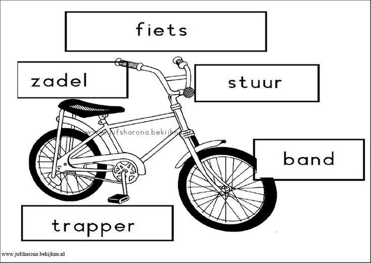 stempelblad de fiets