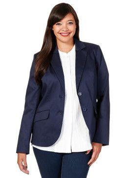 Blejzr, sheego Style #avendro #avendrocz #avendro_cz #fashion #plussize #jacket