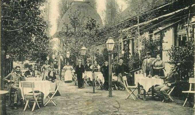 Budagyöngye Vendéglő, 1910, Szilágyi Erzsébet fasor.