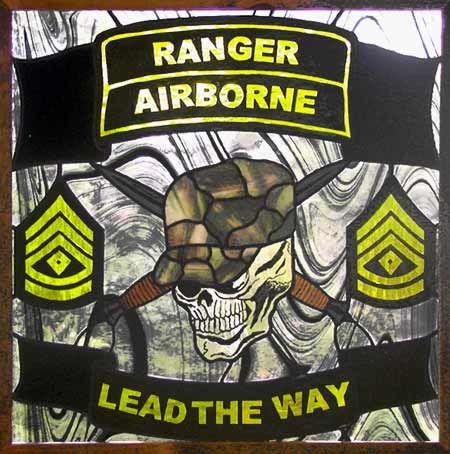 Army Rangers Airborne Logo