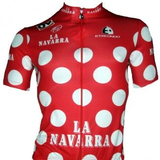 "Tour of the Basque Country ""Red Polka Dot"" KOM Jersey"