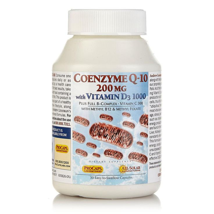 Andrew Lessman CoEnzyme Q-10 200 with Vitamin D3 1000 - 30 Capsules