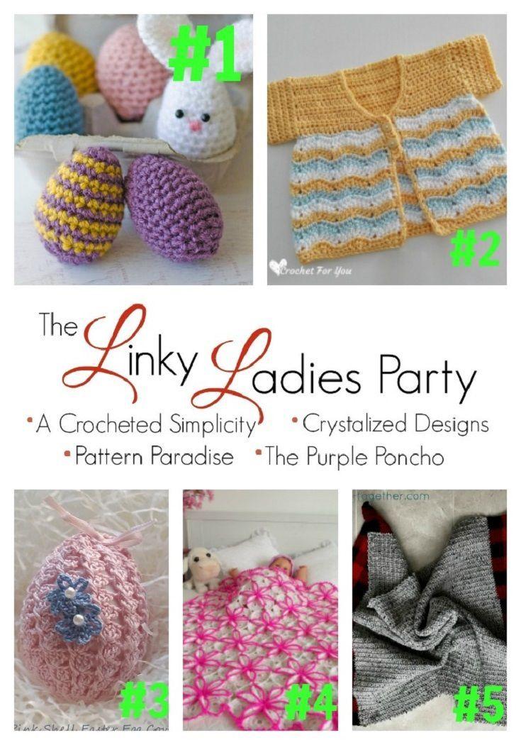 Mejores 79 imágenes de Crochet - linky ladies share en Pinterest ...